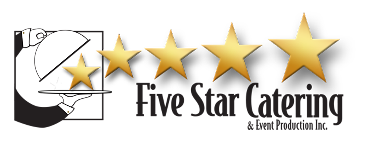 logo five star catering